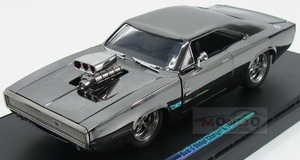 DODGE Dom's Dodge Charger R T 1970 presque & FURIOUS 7 Jada 1 24 Jada 97443 Model