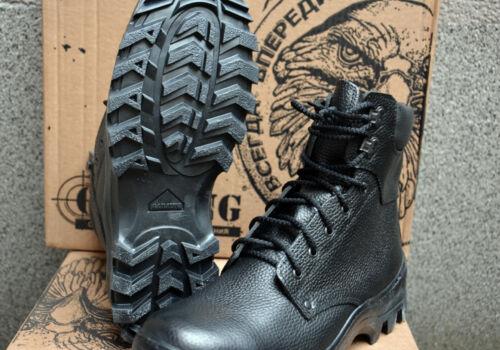 Men/'s Combat Boots Tactical Russian Military Garsing Leather Fur Winter Black