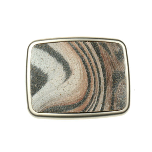 40mm New Best High Quality Removable Patterned Leather Belt Buckles Made In UK