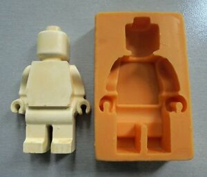 Silicone Mould LEGO CHARACTER BIG Sugarcraft Cake ...
