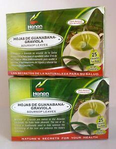 Image Is Loading 50 Soursop Leaves Tea Bags Hoja