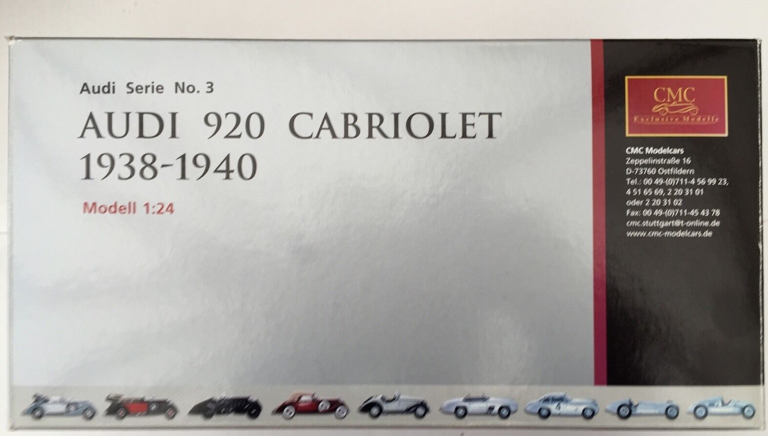 CMC Audi 920, Cabriolet 1938-1940 M-032 (Top Up)