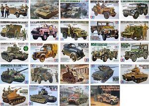 Tamiya-1-35-Vehicule-Militaire-Neuf-PLASTIC-MODEL-KIT-1-35