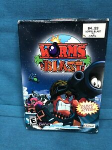 (NEW SEALED IN BOX) Worms Blast Pc Game.