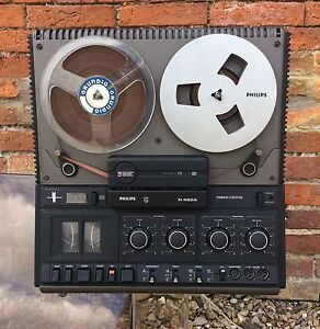 PHILIPS N4504 Vintage Reel To Reel Tape Player retro Hi Fi audio cassette vinyl - <span itemprop=availableAtOrFrom>Long Clawson, Leicestershire, United Kingdom</span> - PHILIPS N4504 Vintage Reel To Reel Tape Player retro Hi Fi audio cassette vinyl - Long Clawson, Leicestershire, United Kingdom