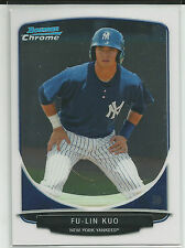 Fu-Lin Kuo New York Yankees 2013 Bowman Chrome Prospect