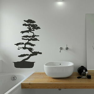 BONSAI TREE IN PLANT POT Giant wall sticker kids vinyl stencils new art ne3 - <span itemprop=availableAtOrFrom>Tamworth, Staffordshire, United Kingdom</span> - You Are welcome to return an order within 14 days if you are unhappy for any reason, should the return be due to an error by us we will pay return postage otherwise the bu - Tamworth, Staffordshire, United Kingdom