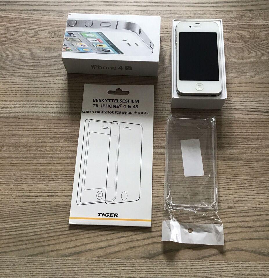 iPhone 4S, 16 GB, hvid – dba.dk – Køb og Salg af Nyt og Brugt