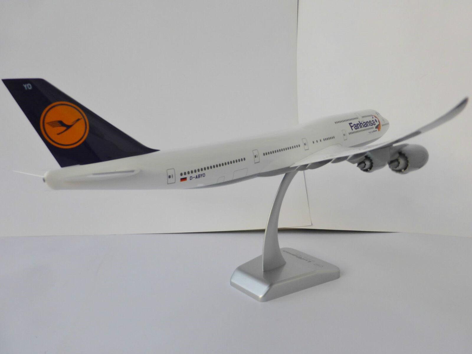 FANHANSA Boeing 747-8 747-8 747-8 LUFTHANSA 1 200 Limox Wings LH30 747 D-ABYO Saarland WM 42cc5e