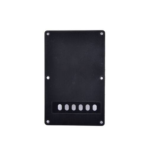 1Pc black guitar tremolo spring backplate cover for electric guitar durable ZF