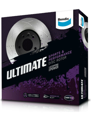 2 x Bendix Ultimate Performance  Rotor FOR FORD FALCON FG BR505