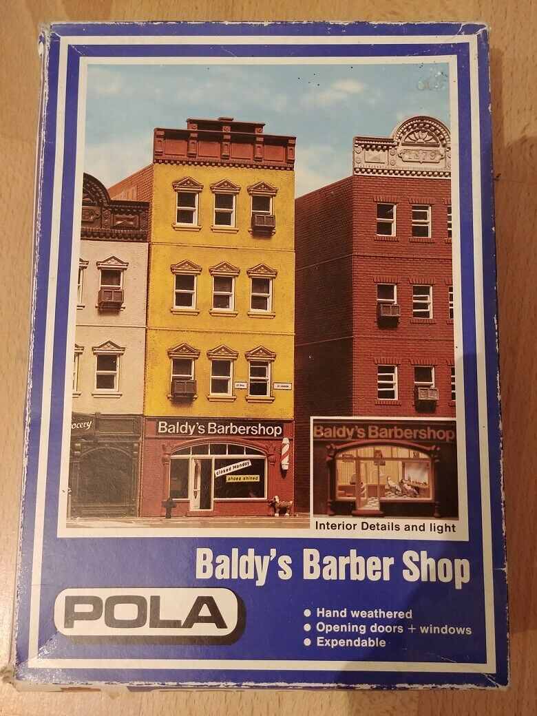 Pola H0 171 Baldy's Barber Shop