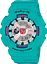 Casio-Baby-G-BA-110-Series-Sporty-Sneaker-Color-Teal-Semigloss-Watch thumbnail 1