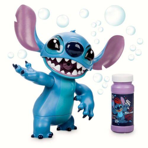 Disney Parks STITCH Light Up Bubble Blower With 4 oz Bubbles