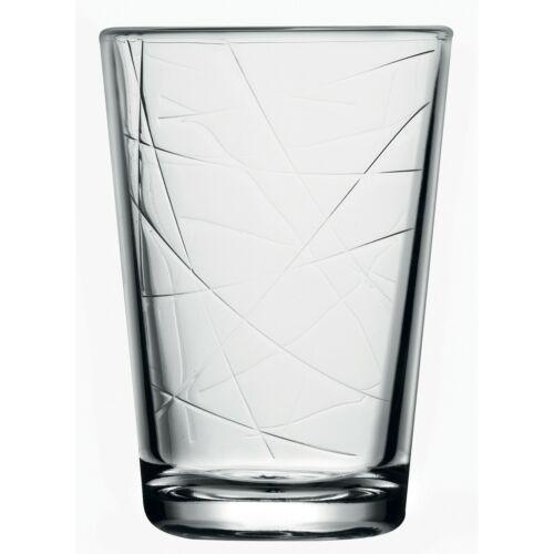 Pasabahce Mizu 200ml Modern Drinking Glasses Juice Water Tumbler Glassware Gift