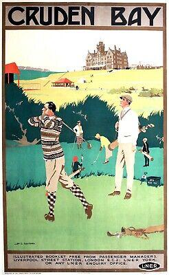 A2  Reprint 1920/'s Edinburgh LNER  Railway Poster A3