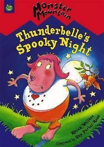 Wallace-Karen-Thunderbelle-039-s-Spooky-Night-Monster-Mountain-Very-Good-Book