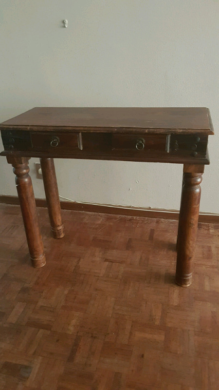 Heavy wooden table