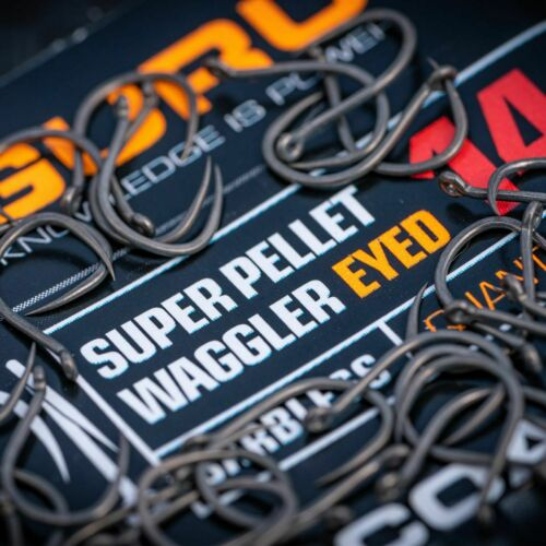 Lavender Tackle Guru NEW Super Pellet Waggler Hooks *All Sizes Available*