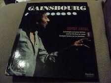 "RARE! CD-LIVRE ""SIGNE SERGE GAINSBOURG 1985 : SORRY ANGEL"""
