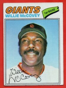 1977-Topps-547-Willie-McCovey-VG-VGEX-San-Francisco-Giants-FREE-SHIPPING