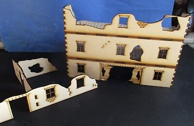 28mm RUIN /& Complete Factory 28mm Set A laser cut MDF 3MM bolt action Scenery