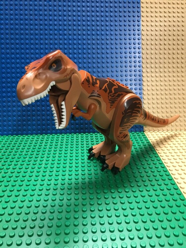 Lego Jurassic World T-Rex Minifigura De Set 75918 Dino Dinosaurio