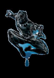 Marvel Black Panther Folienballon Mit und ohne Helium Anagram XL Markenware