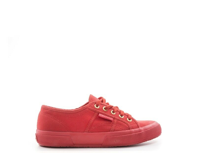 Shoes SUPERGA Woman RED Fabric S000010-964