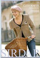 City Knits In Click Dk - Sirdar Pattern Book 329 - 10 Designs For Women & Girls