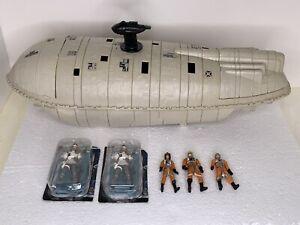Star-Wars-Loose-ESB-Rebel-Transport-Vintage-Kenner-With-5-Figures