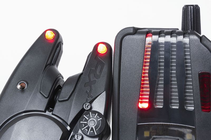 Fox Micron RX+ 2 Rod Presentation Fishing Set / Carp Fishing Presentation Bite Alarms ed5749