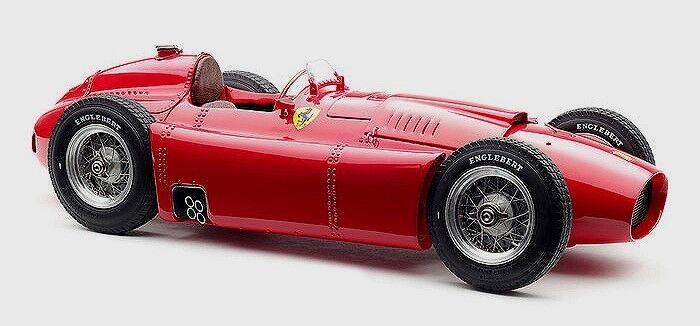 excelentes precios 1 18 CMC 1956 LANCIA D50 Grand Prix Coche Rojo Rojo Rojo M180  ahorra hasta un 80%