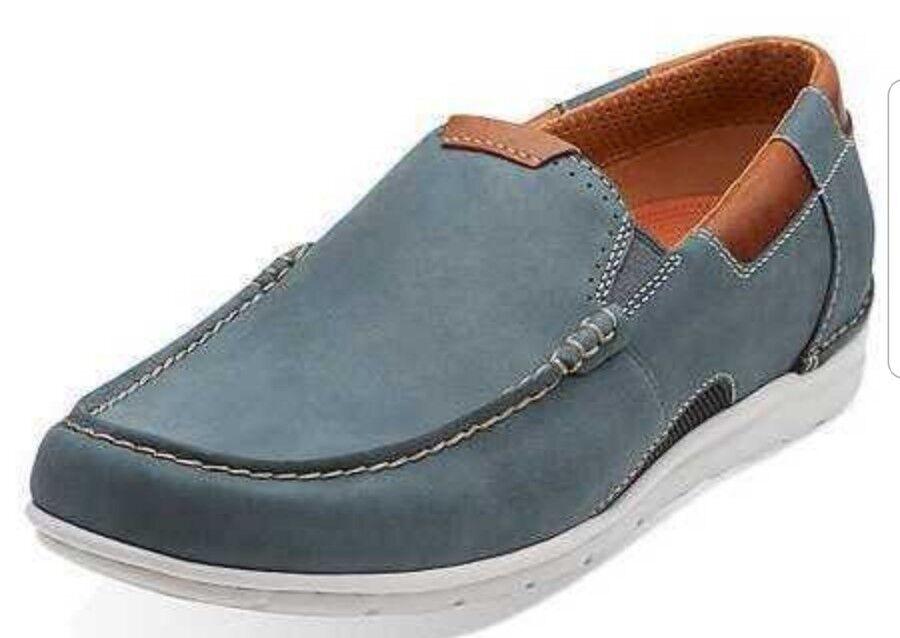 Clarks Ungraysen Free  Größe Uomo Formal Schuhes Denim Größe  UK 9.5 Fit H 2cde32