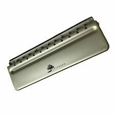 Levenger Circa Universal 11 Hole Desk Paper Hole Punch With Adjustable Slide