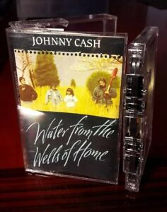 Johnny Cash Water From The Wells Of Home Cassette 1988 Ebay