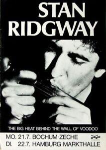 RIDGWAY-STAN-WALL-OF-VOODOO-1986-Konzertplakat-Concert-Poster