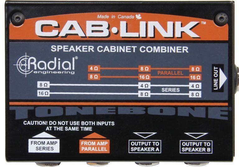 Radial CAB-LINK Tonebone Passive Speaker Cabinet Merger