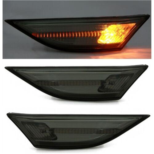 2 REPETITEUR PORSCHE 911 991 A PARTIR 12//2011 LATERAUX CHROME CRISTAL LED