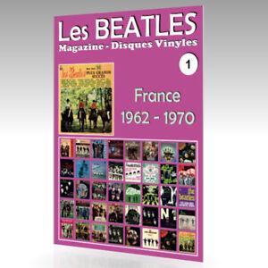 Les-Beatles-Magazine-Disques-Vinyles-N-1-France-1962-1970-Guide