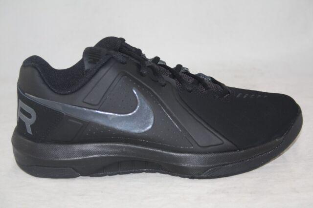 7aeef4f0eb915 Nike Air Mavin Low NBK Mens 719929-006 Black Nubuck Basketball Shoes Size  7.5 for sale online | eBay