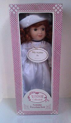 Abile Windsor Collection, Autentico Vintage Bambola Di Porcellana-boanca (inscatolato), Ornamentale-mostra Il Titolo Originale Acquista Ora