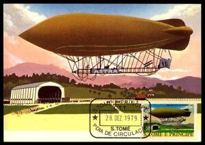 S-TOME-MK-1979-Aeronautique-aviation-zeppelin-airschip-maximum-carte-MC-CM-m837