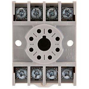 nte r95-113 - 8 pin oktal relaissockel mit schraubklemmen