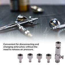 """Airbrush Quick Release Coupling Disconnect Adapter with 1//8/"""" Plug Fitting Part ~"""
