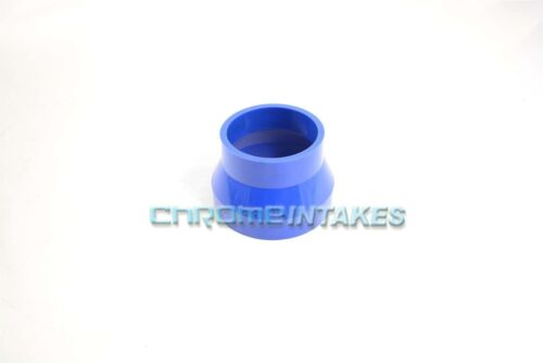 "BLUE 3/""-4/"" AIR INTAKE//PIPING RUBBER REDUCER COUPLER FOR PONTIAC//OLDS"