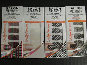 4-SALLY-HANSEN-SALON-EFFECTS-LIMITED-EDITION-NAIL-STICKERS-NEW-EL-2183
