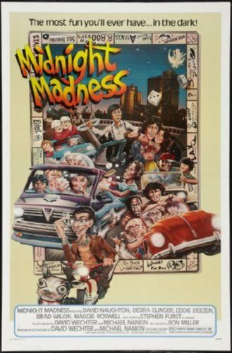 Midnight Madness Movie Poster 24inx36in