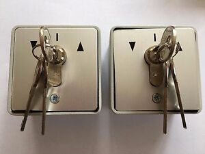 2-Key-Switches-with-3-keys-each-for-Shutters-Garage-Door