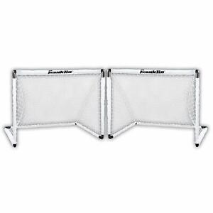 Franklin Sports Deux Soccer Goal Set - 54 X 36 In (environ 91.44 Cm)-afficher Le Titre D'origine